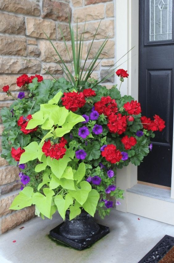 20 Beautiful Porch Planter Ideas • MW Designs