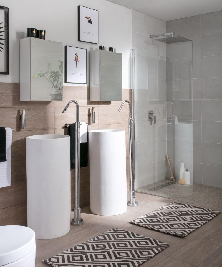 Qué te parecen unos lavabos tipo columna tan originales como estos ...
