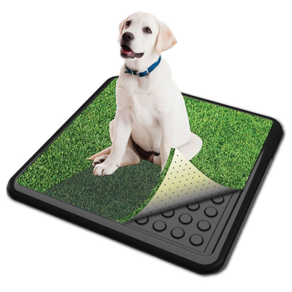 20 X 20 Puppy Dog Pet Potty Training Pee Pad Grass Mat Tray