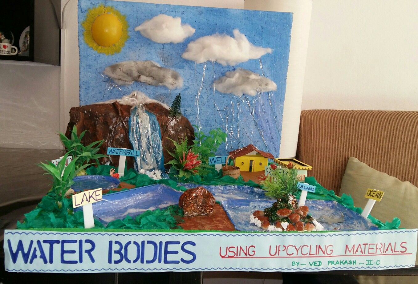 Model Of Water Bo S Using Up Cycling Materials