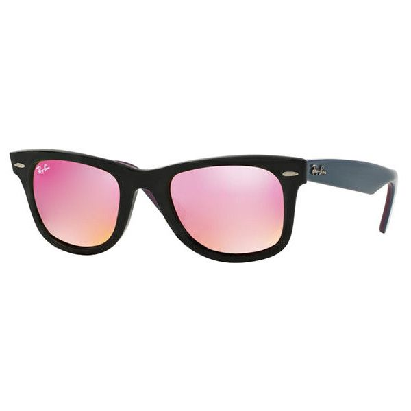 b9723a2383a ... blue a81c7 106cf  promo code for ray ban rb2140 original wayfarer  11744t sunglasses 170 cad liked on polyvore e8f5d