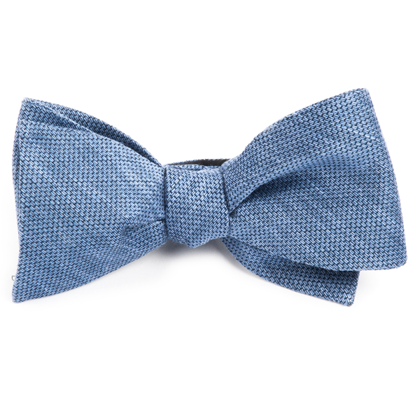 Festival Textured Solid Slate Blue Bow Tie Men S Bow Ties Blue Bow Tie Men Blue Bow Tie Slate Blue