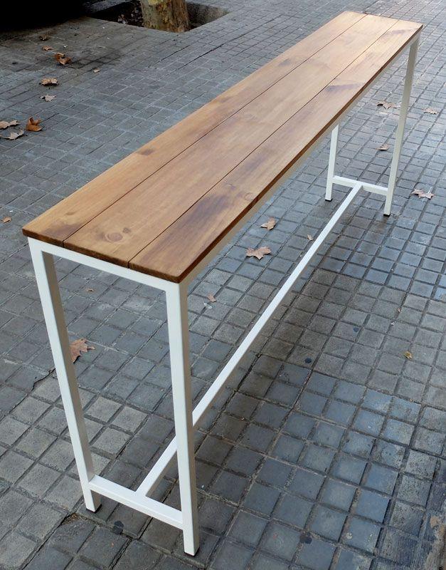 barra hierro madera | DISEÑO PARA LA PANADERÍA | Pinterest | Madera ...
