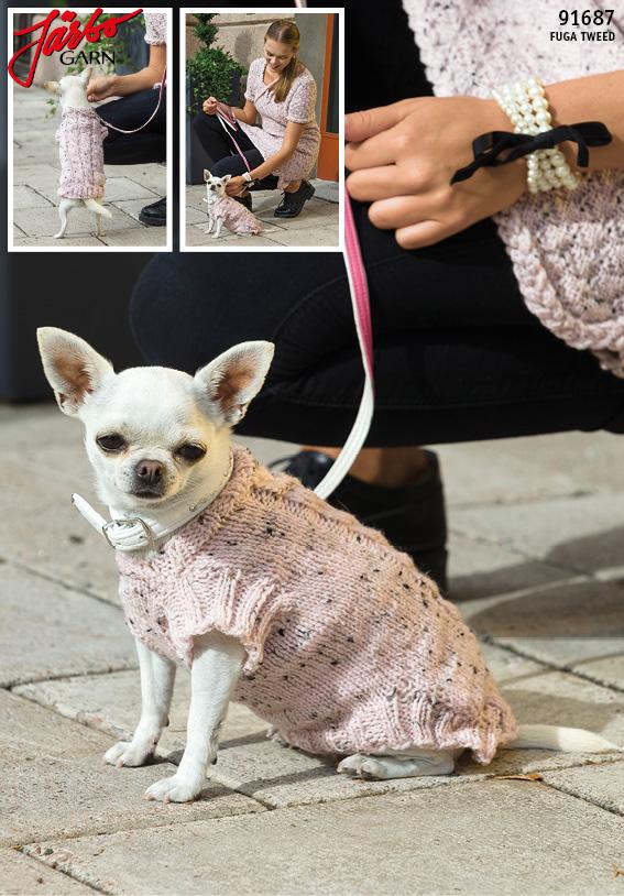 Hundtröja med flätor | Hundtröja, Virka hundtröja, Hundkläder
