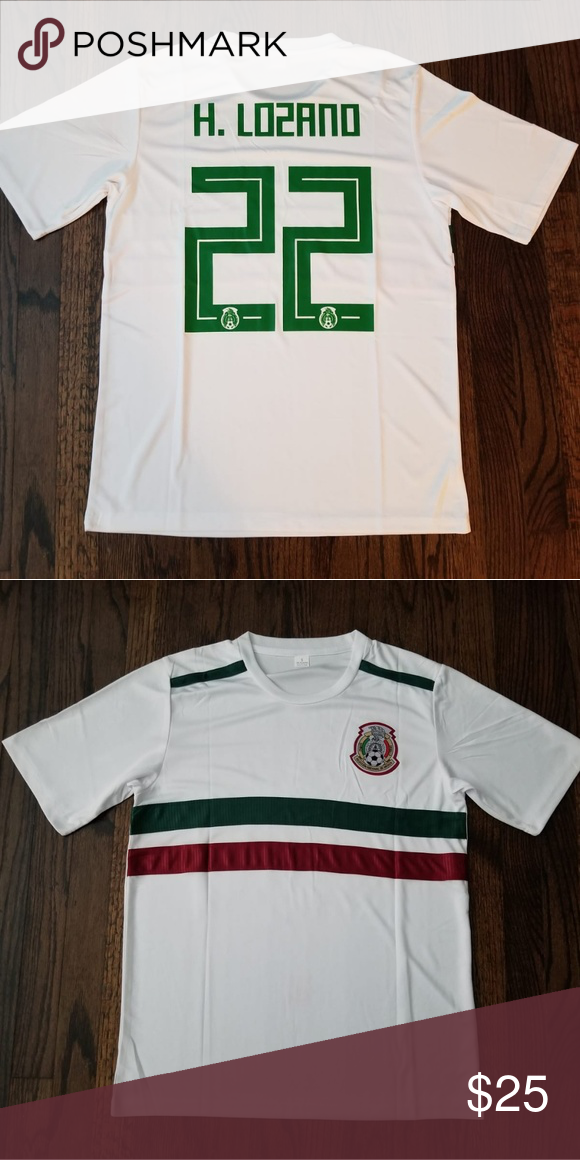 best service 47fe5 7aae7 Mexico jersey #22 H. Lozano soccer Jersey Mexico national ...