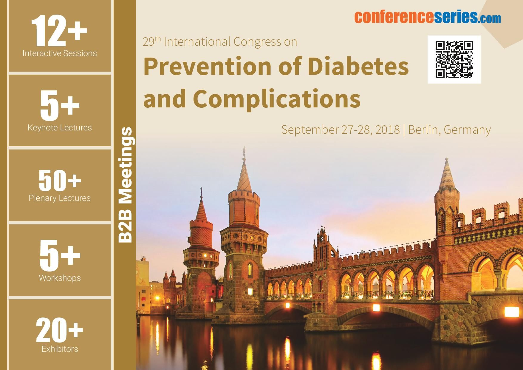 29th International Congress on Prevention of Diabetes and