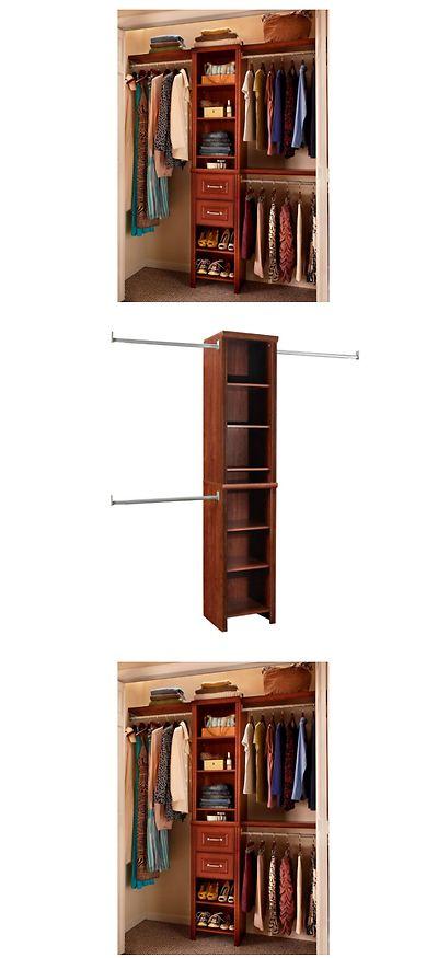 Closet Organizers 43503: Bedroom Closet Organizer Storage Rack Shelves  Clothes Narrow Wardrobe Closetmaid  U003e