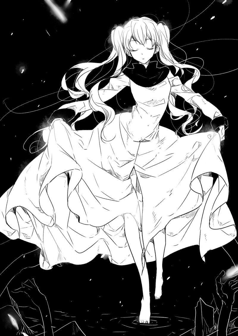 Kekkai sensen white anime recommendations blood blockade battlefront anime soul manga art