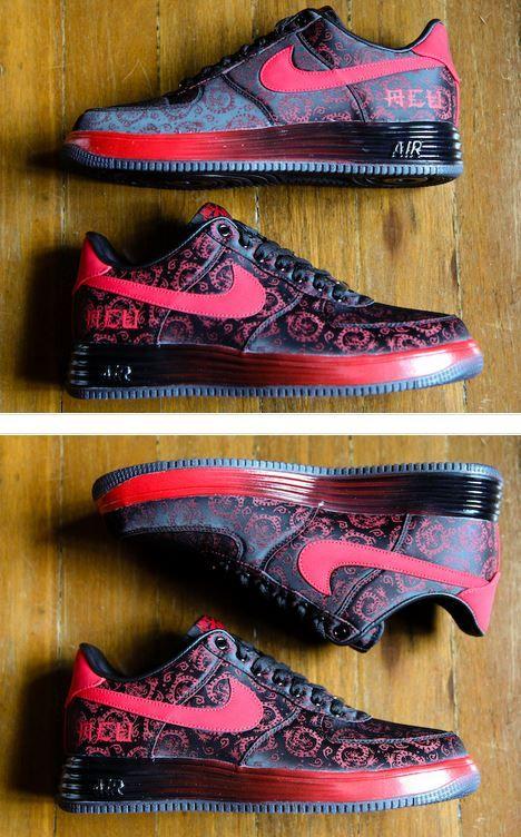 "buy popular e1adb c1f3c THE SNEAKER ADDICT  ACU x Nike Lunar Force 1 ""Shanghai"" Luwan Never Gone  Sneaker (Detailed Look)"