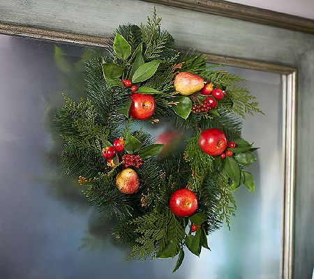 15 fruit wreath by valerie valerie parr hillqvcfruit
