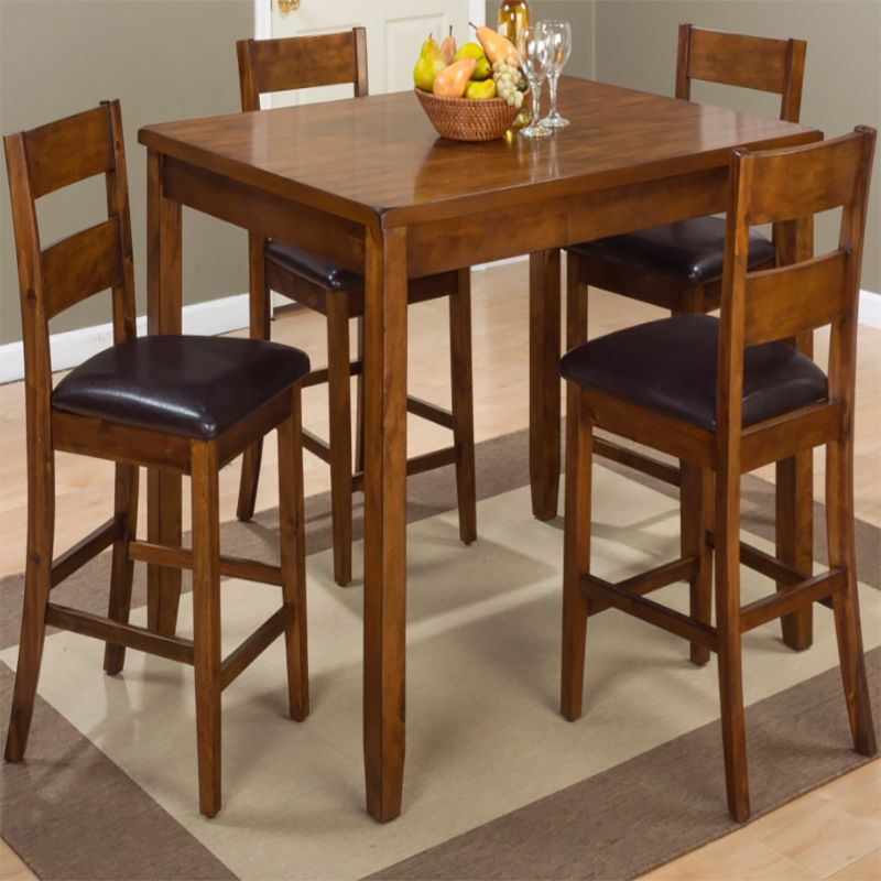Great Plantation 5 Pack  Counter Height Table Set | Dining Sets | Discount Direct  Furniture And