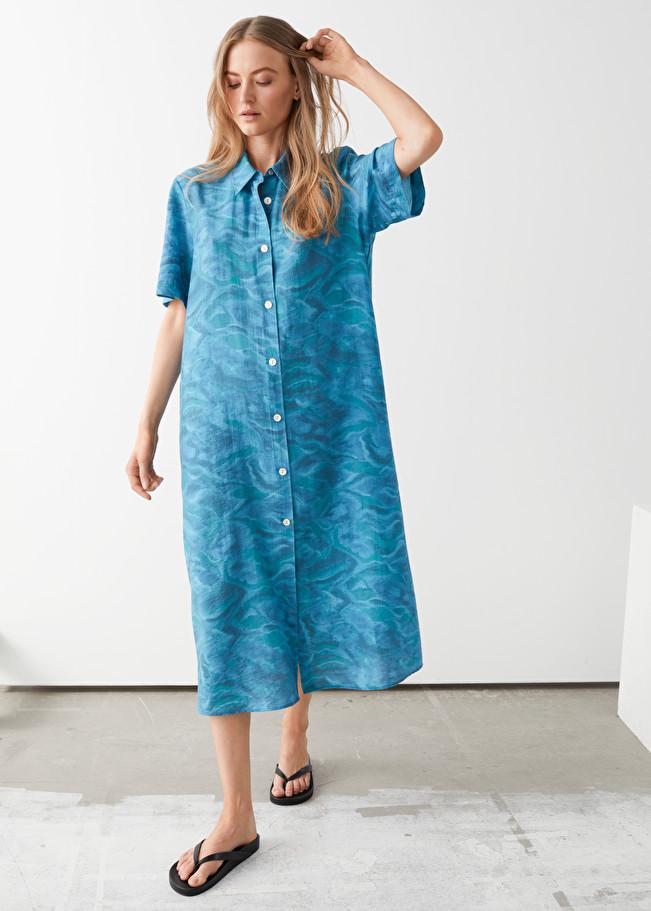 48+ Maxi shirt dress ideas