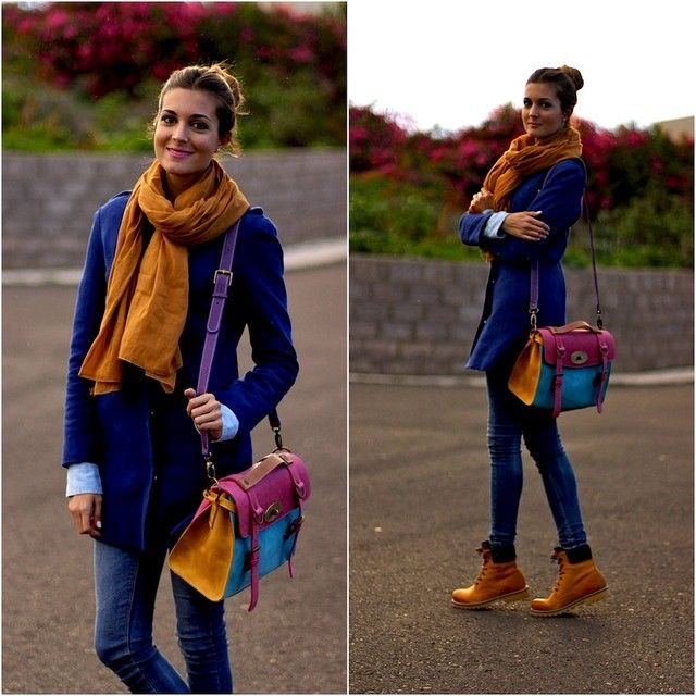 Looks con bolsos azules Trendtation | Ropa | Botas