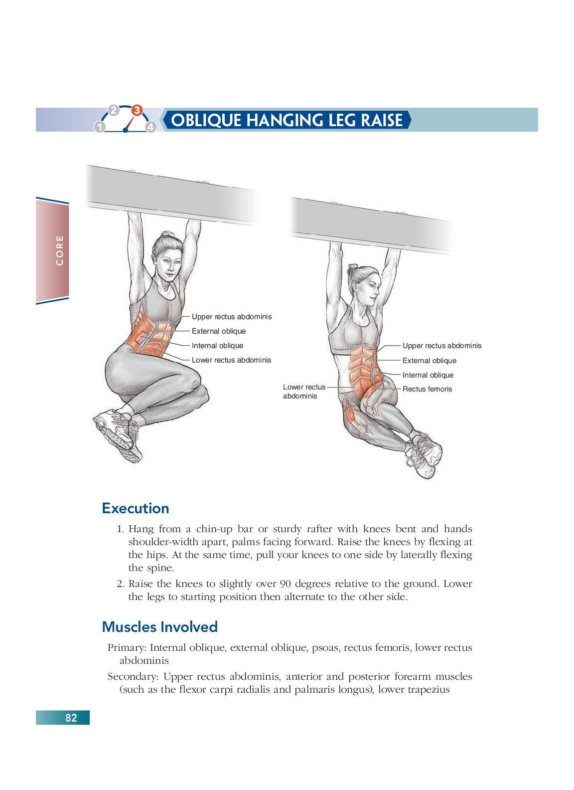 Chapter 5 Core 82 Bodyweight Strength Training Anatomy Pinterest