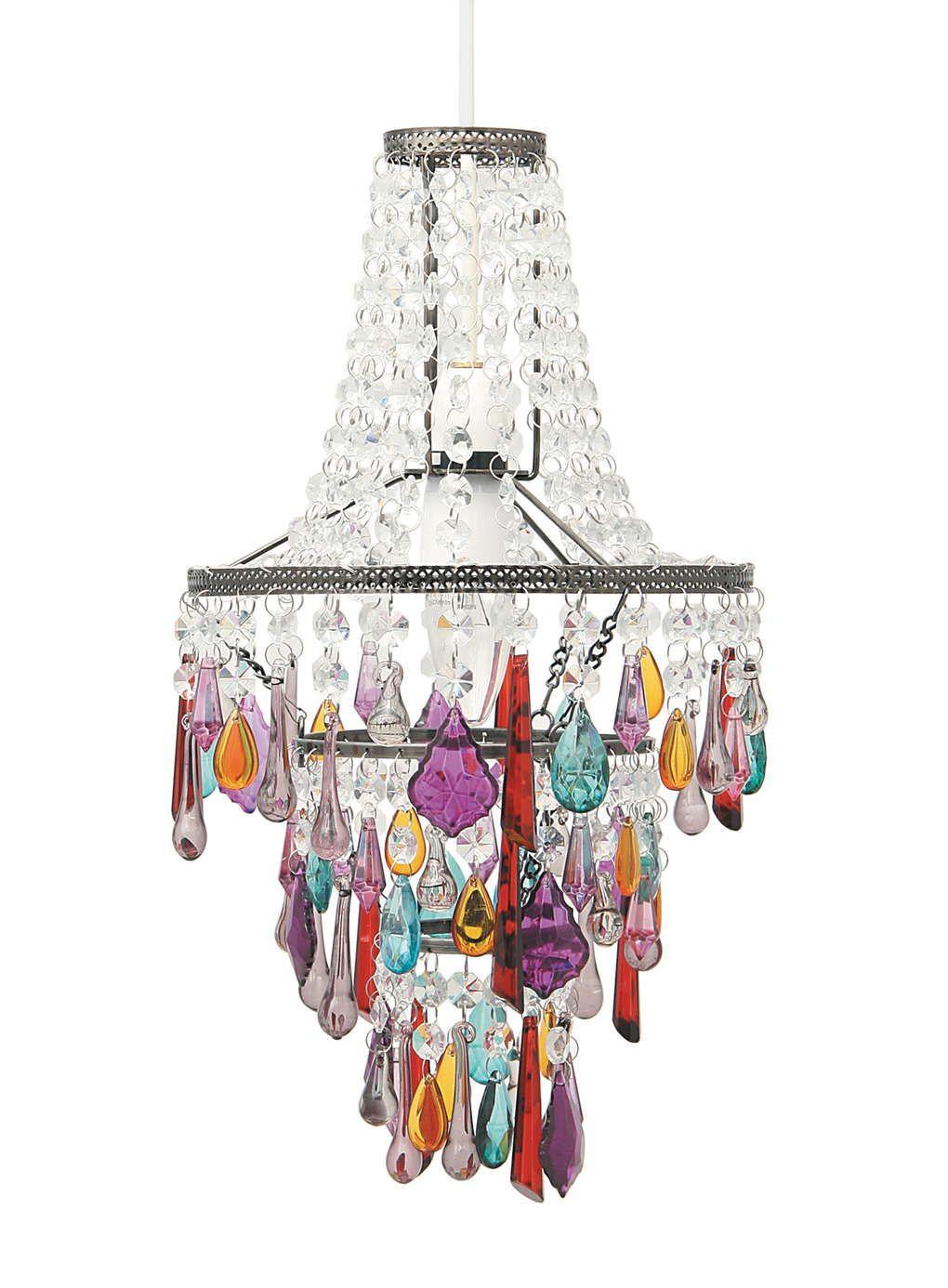Muilti Coloured Babushka Easy to Fit Ceiling Light | Girl\'s bedroom ...