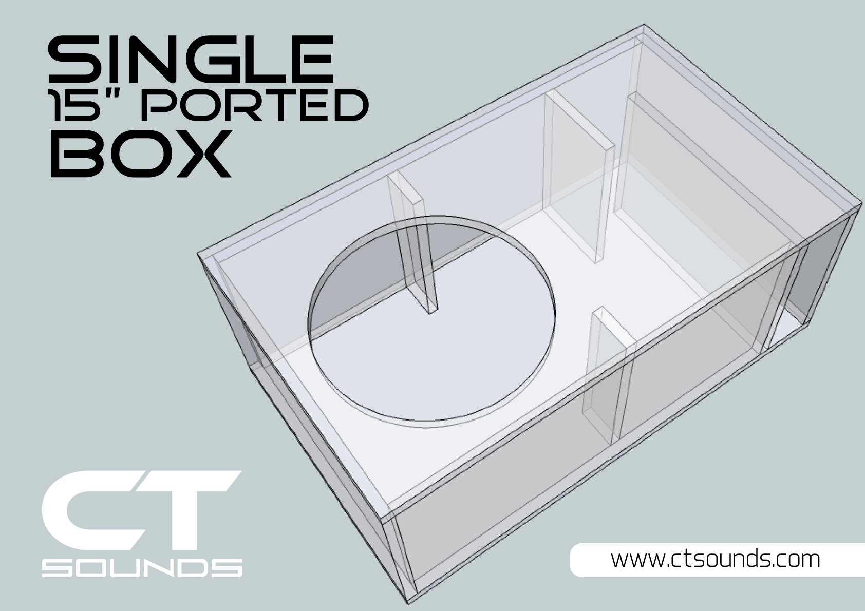 Dual 8 Inch Ported Subwoofer Box Design In 2020 Subwoofer Box Design Subwoofer Box Diy Subwoofer Box
