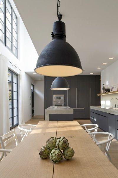 Küche Beton H   Küche   Küche beton, Pendelleuchte küche und ...