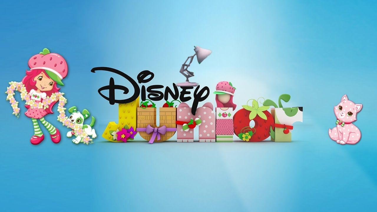 379 Disney Junior With Strawberry Shortcake Puppy Palace Spoof Pixar Lam Disney Junior Pixar Lamp Puppy Palace
