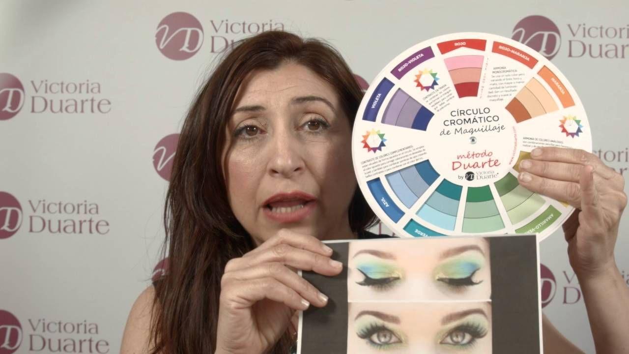 Combinar Colores De Maquillaje Con El Circulo Cromático Manual De Instr Circulo Cromatico Maquillaje Circulo