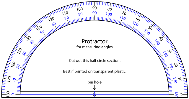 Nerdy image throughout printable protractor