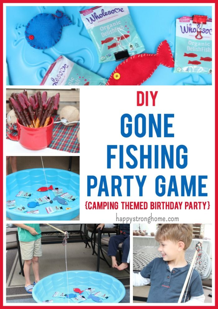 There S A Sweet Catch To This Party Game With Images Camping