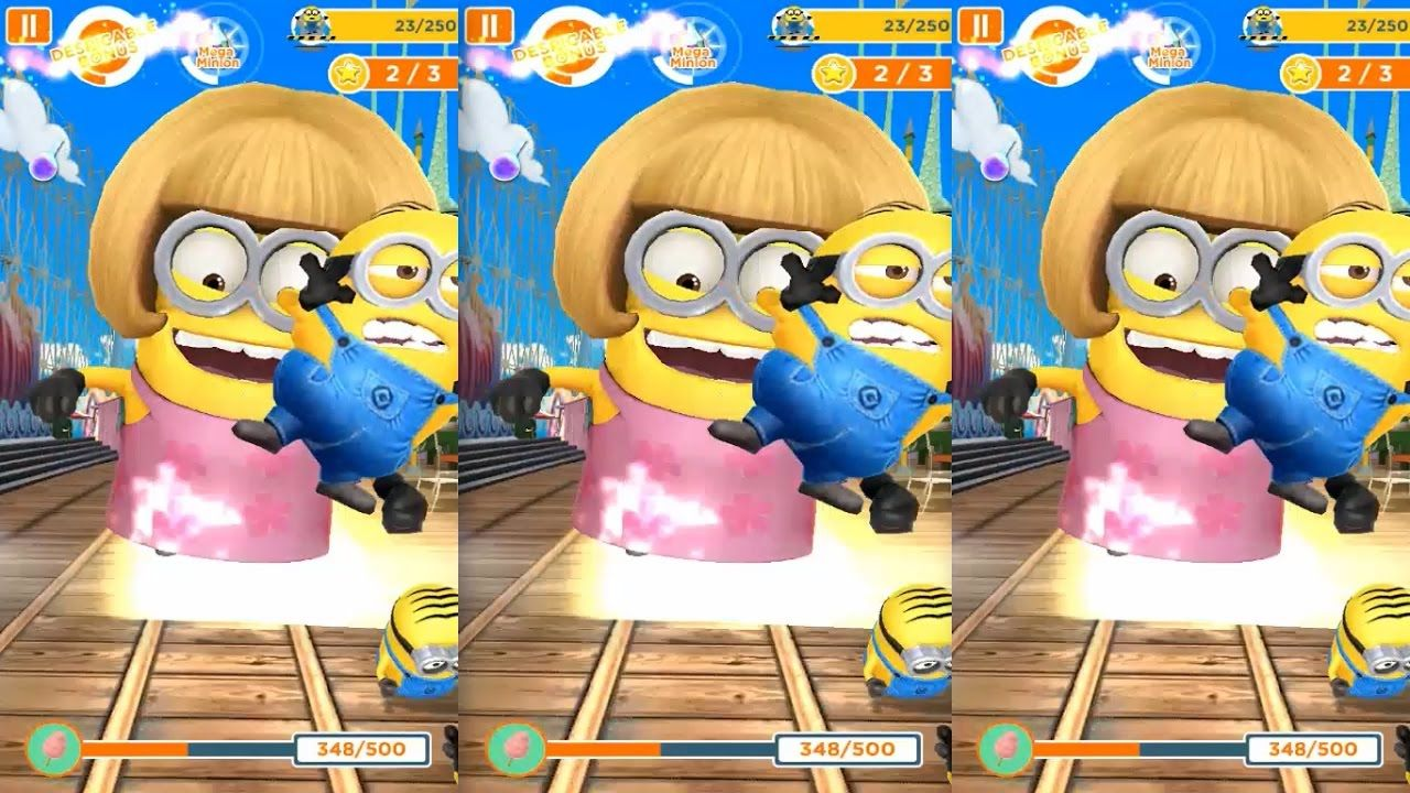 Despicable Me 2 Minion Rush Minion Mom Run In Silly Fun Land
