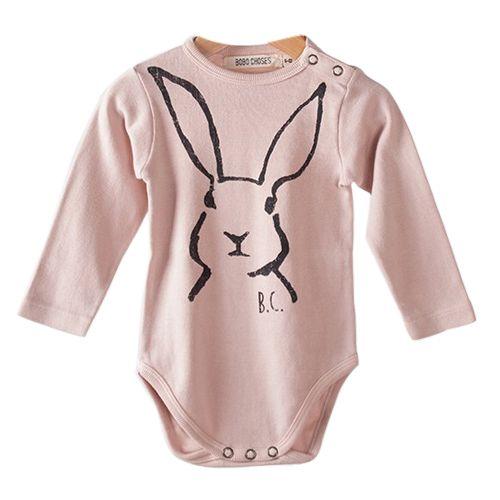 shopminikin - Bobo Choses Baby Body LS Hare, $47.00 (http://www.shopminikin.com/bobo-choses-baby-body-ls-hare/)