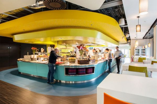 google office cafeteria. latest google office design located in dublin cafeteria l