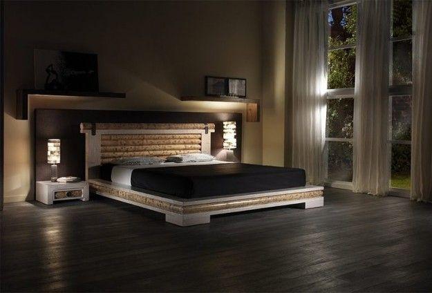 Arredare una camera da letto in stile etnico - Camera da letto elegante  Sti...