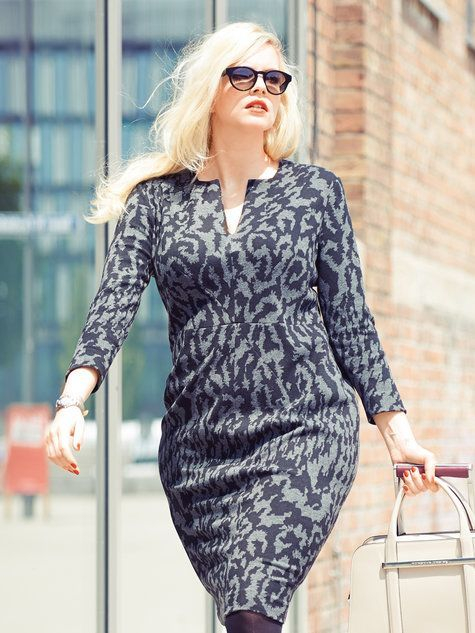 ec61fa90 Look Confident in meeting by wearing Plus Size Business Clothes | My ...