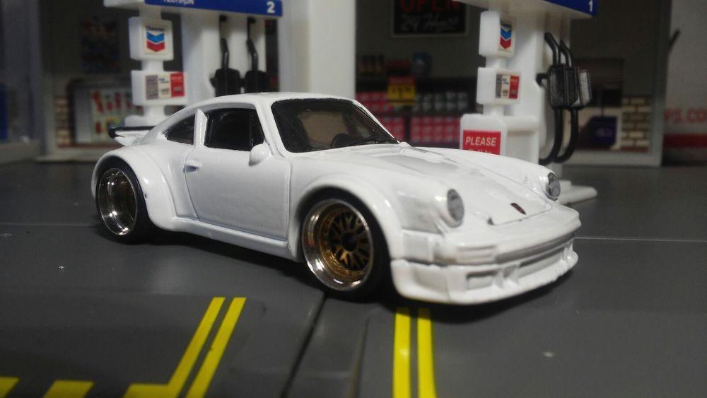 Hot Wheels 1 64 Porsche 934 Turbo Rsr Super Custom Wheels By Al Gonzalez Custom Wheels Hot Wheels Porsche