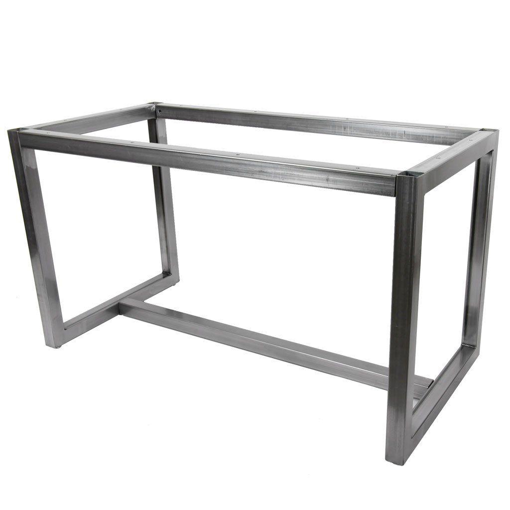 Jumbo Zephyr Made To Order Metal Base Dining Table Metal
