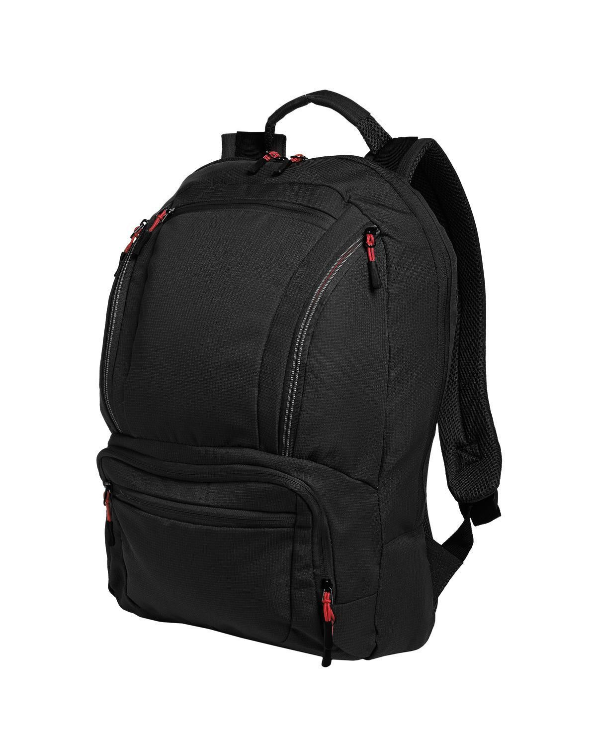e71975d485c Port Authority Cyber Backpack. BG200 Black  Red   Stuff to Buy + ...