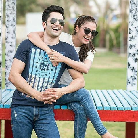 Ayza Khan And Danish Taimoor Cutest Lovely Couple Beautiful Fascinating Lovely Couple Com