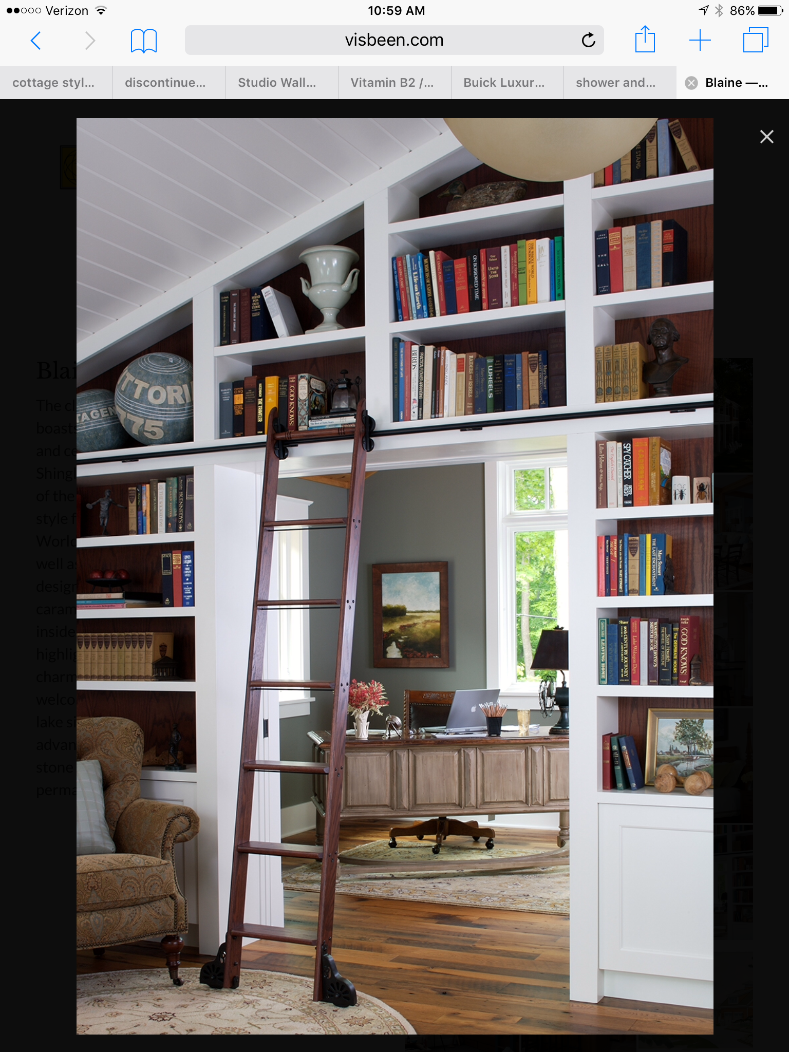 Cottage Home Library: Pin By Barbara Elliott On Cottage