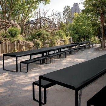 Produits - Bellevie | FERMOB Salon de jardin aux formes géométriques