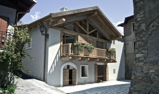 Vendita appartamenti in Baita di montagna Melezet
