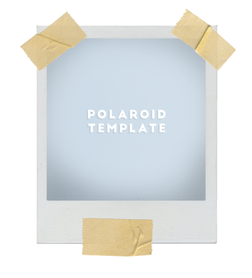 Polaroid Template  Ts Mods Resources Tips Etc
