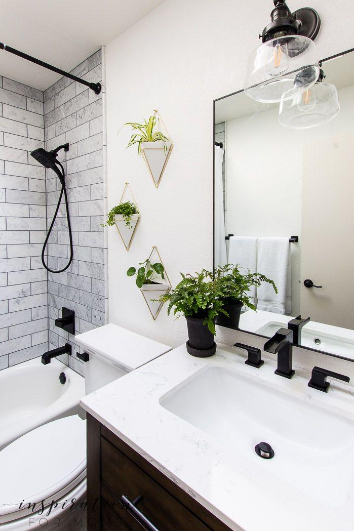 Bathroom Remodel With Modern Fixtures