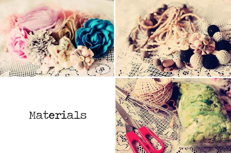 use a whisk to make a fabric flower bouquet... could be used if you ...