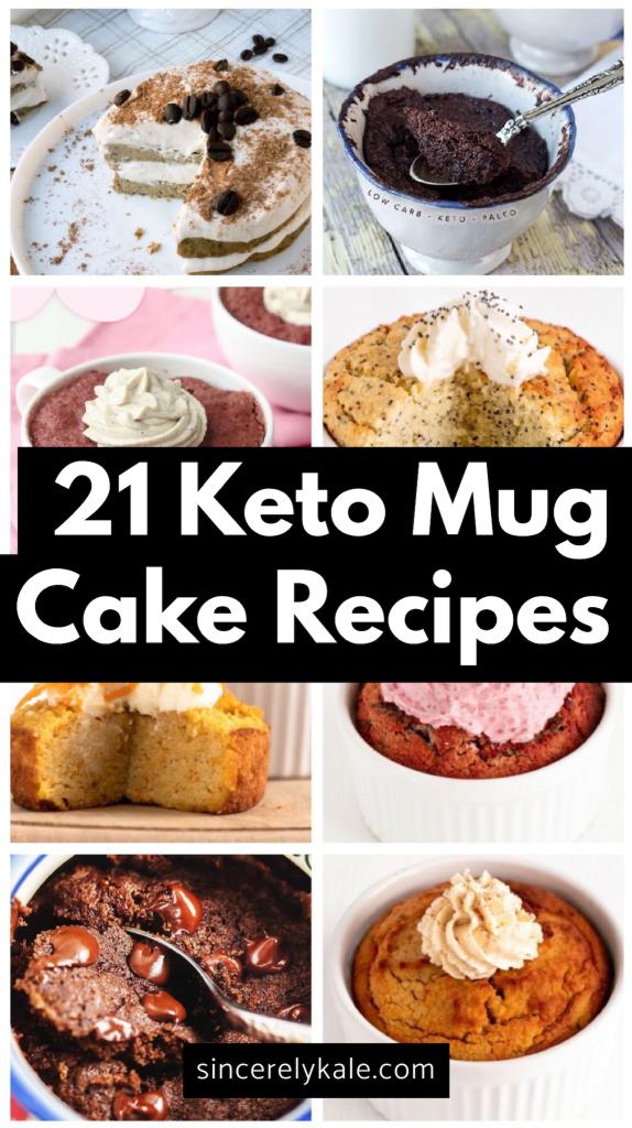 21 Amazing Low Carb Keto Mug Cake Recipes | Keto mug cake ...