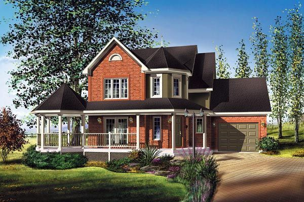 Victorian Style House Plan 49728 with 3 Bed , 2 Bath , 1 Car Garage -  House Pla... -  Victorian Style House Plan 49728 with 3 Bed , 2 Bath , 1 Car Garage –  House Plan 49728 | Victori - #1700sqftHousePlans #Bath #bed #Car #garage #House #HousePlansideas #HousePlansireland #HousePlanssouthafrica #HousePlansvideos #metalHousePlans #pla #plan #splitlevelHousePlans #squareHousePlans #Style #Victorian