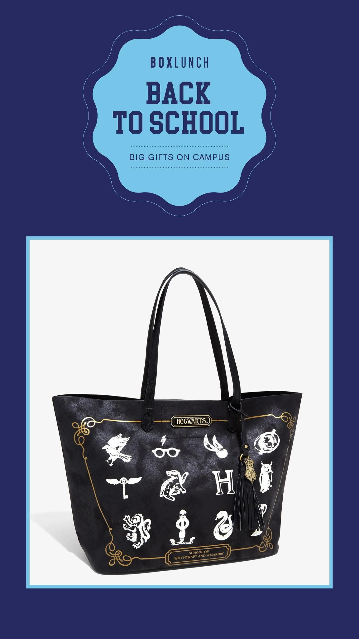 Damentaschen Harry Potter Back To Hogwarts Icons Faux Leather Tote Hand Bag  Purse Kleidung & Accessoires bailek.com