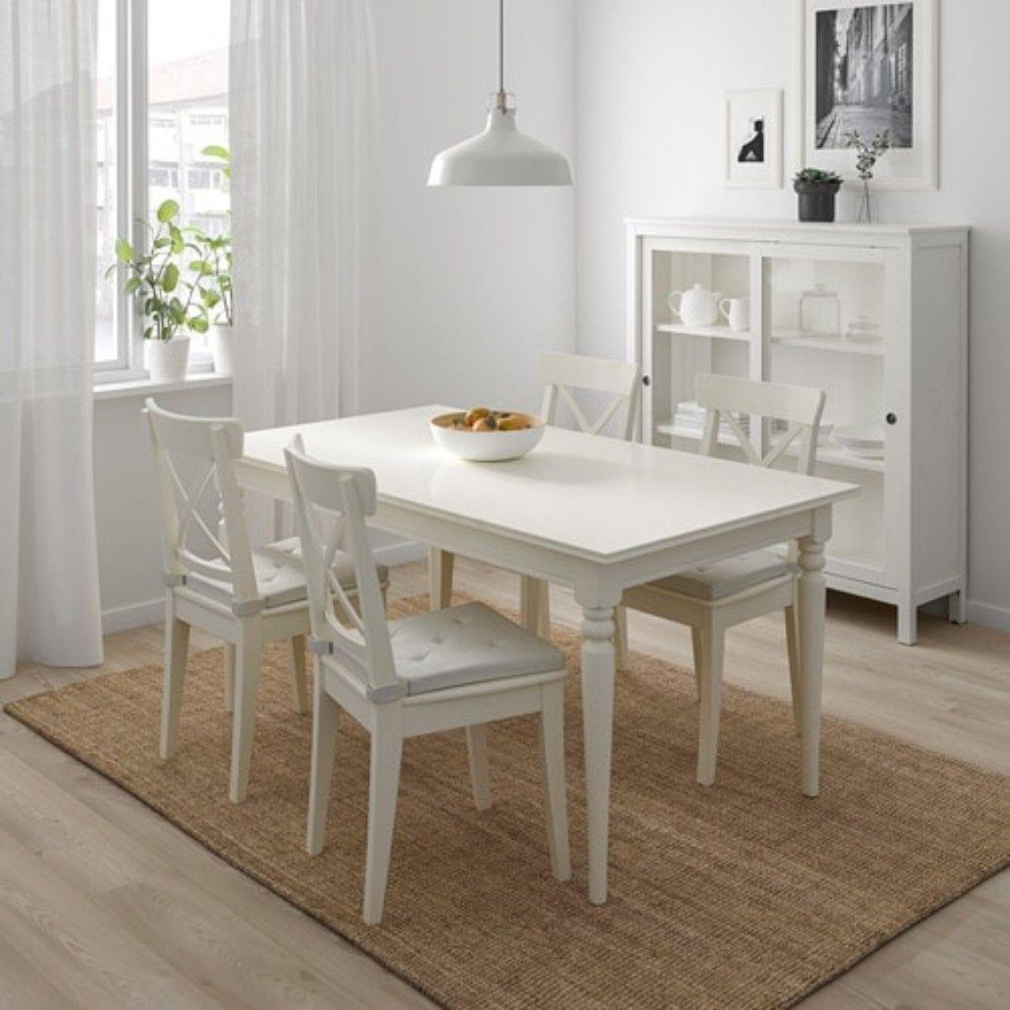Pin von Kerstin Kramer auf Ikea Küche | Weiße stühle ...