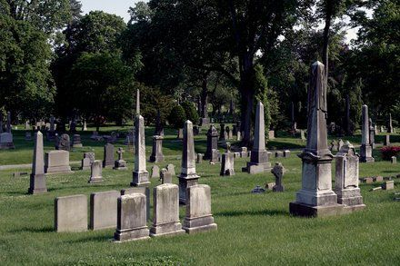 New York Today: Graduating From a Graveyard by ALEXANDRA S. LEVINE