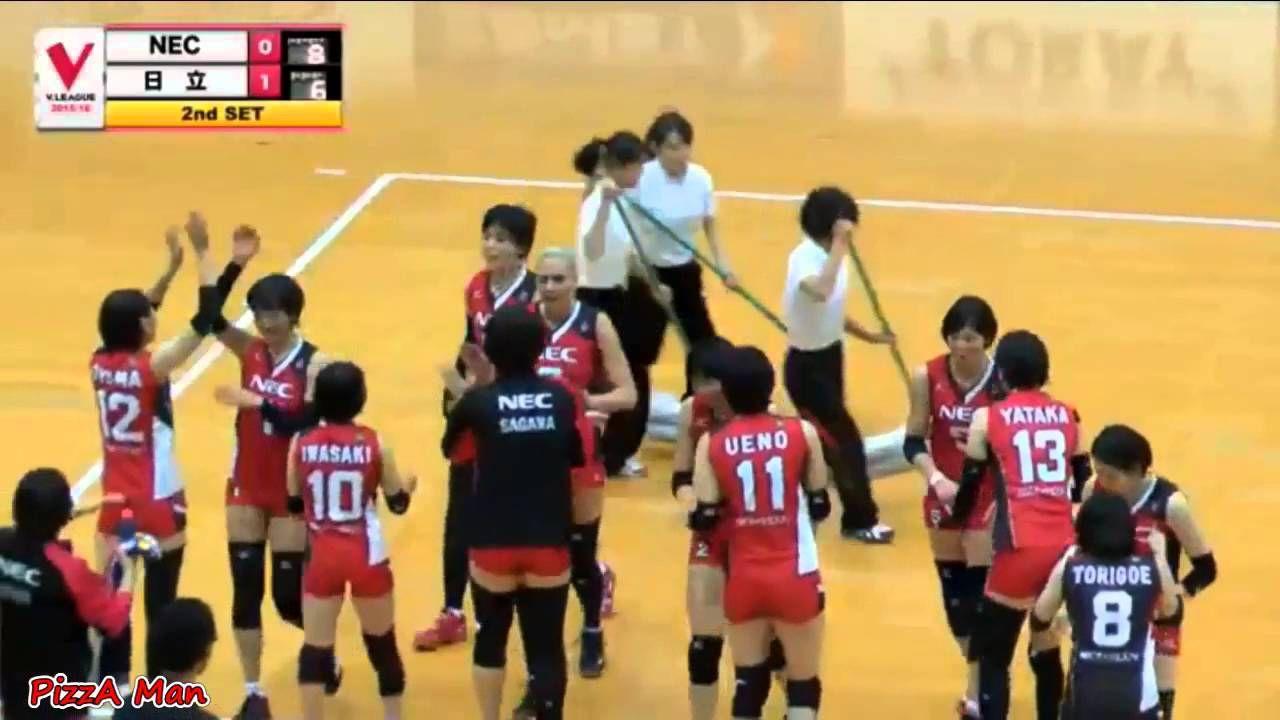 13 Dec 15 Sarina Koga Vs Hitachi Rivale V League