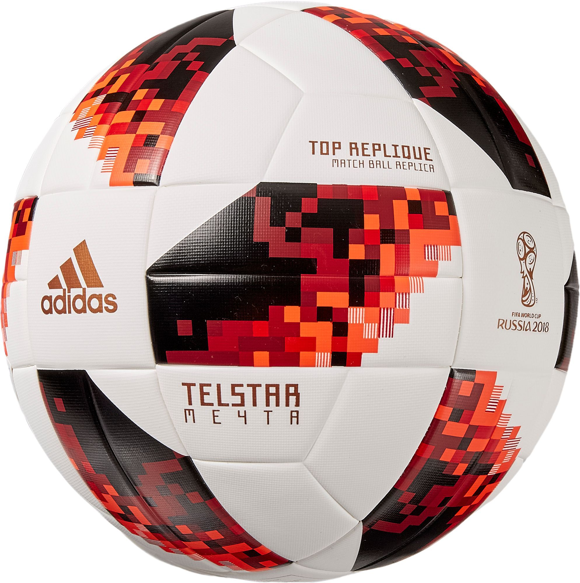 adidas 2018 Fifa World Cup Telstar Mechta Knockout Stage Top Replique  Soccer Ball d5f0f152f2120
