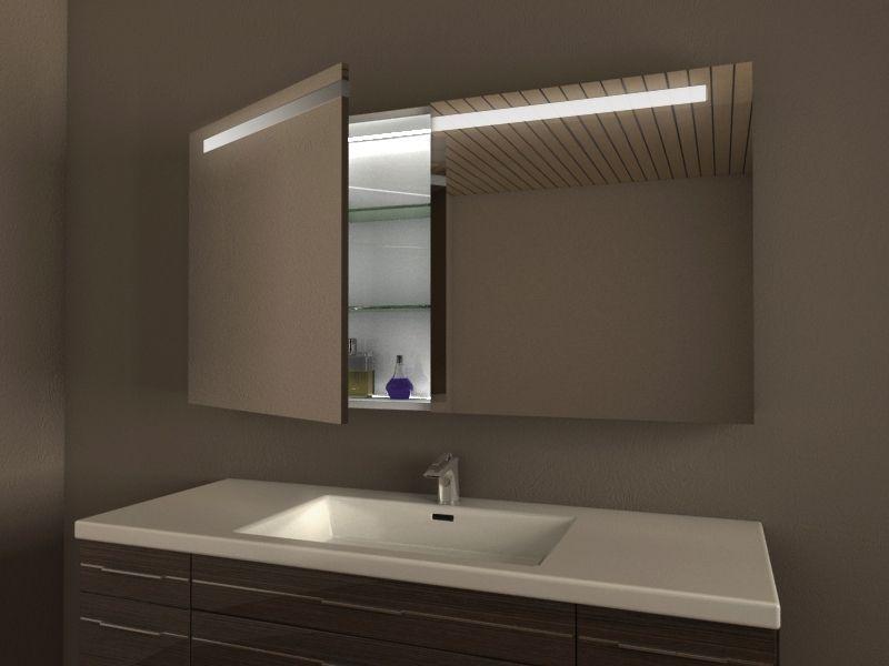 LED Spiegelschrank fürs Bad, Maßanfertigung - DUBLIN | Bathroom ...