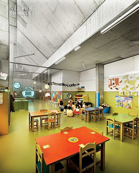 Join The Fun: A Playful Daycare Center In Spain By ELAP. Interior Design ...