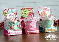 Coffee Cup Treat Holders - Doodlebug Design Team Project